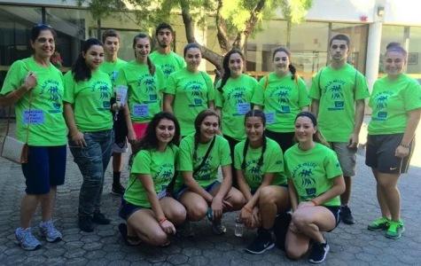 Armenian Club participates in Bone Marrow Walk