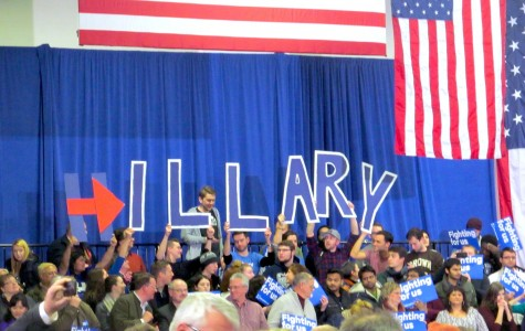 People in New Hampshire show their support — no matter the result