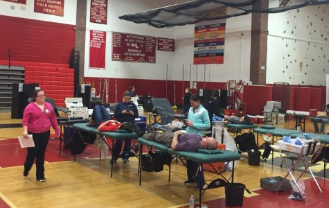 WHS blood drive draws quite a crowd
