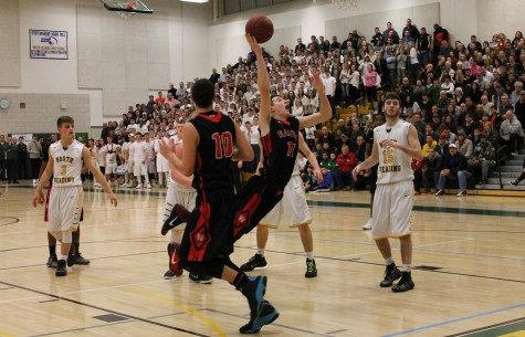 Watertown High North Reading boys' basketball Division 3 North Grace Duguay