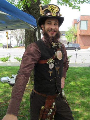 Dressing up is in fashion at the annual Watch City Steampunk Festival. This year's festival will be held May 7, 2016, once again on the Waltham Common.