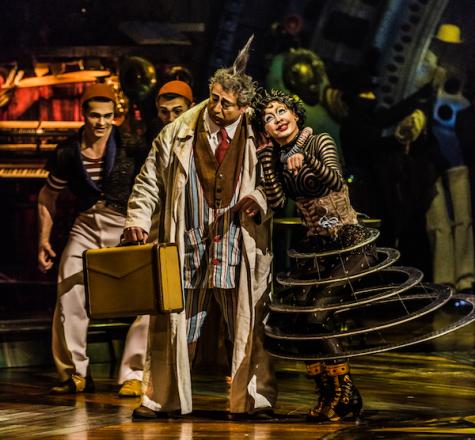 Cirque du Soleil explores world of imagination at Suffolk Downs