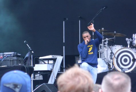 Vince Staples performed on Day 3 of Boston Calling 2016.