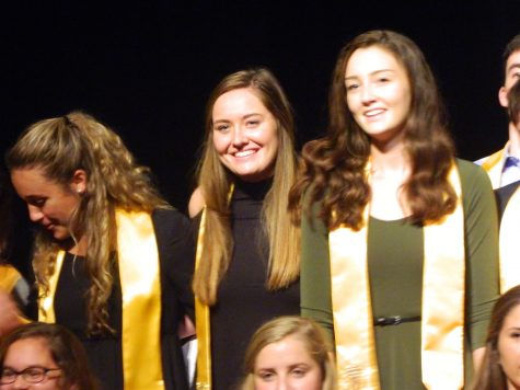 Watertown High School inducted 65 juniors and seniors into the National Honor Society during ceremonies Oct. 20, 2016.