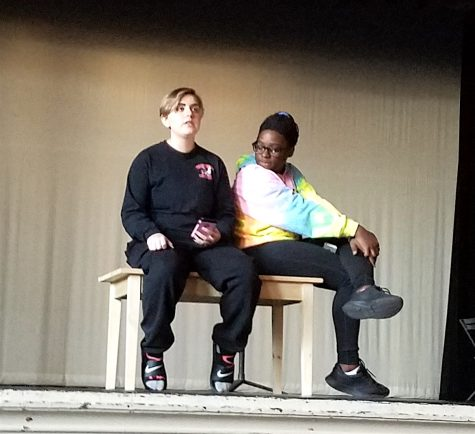 Vera Doob (left) and Ashley Mawanda audition for the WHS Talent Show on Nov. 7, 2016. The Talent Show will be held Tuesday, Nov. 22, in the Watertown High School auditorium at 7 p.m.
