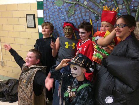 Students came dressed in costumes of all types at the annual Halloween Party at Cunniff Elementary School in Watertown, Mass., on Oct. 28, 2016.