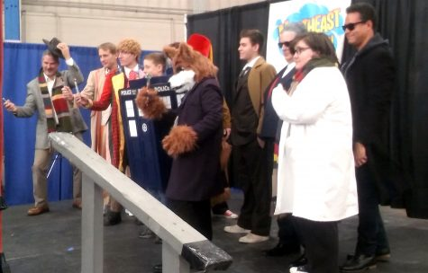 The costume contest was one of the fun events for fans during the Northeast Comic Con at Shriners Auditorium in Wilmington, Mass., on Dec. 3, 2016.