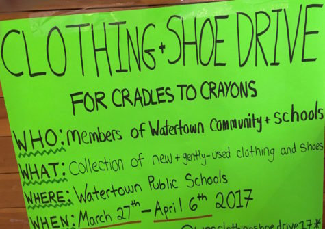 Class project: Watertown students donate their time to help Cradles To Crayons