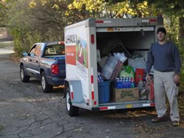 WHS Contributes to Hurricane Sandy Relief Efforts