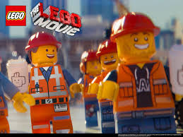 "Construction worker Emmet (left) is voiced by Chris Pratt and is the star of ""The Lego Movie""."