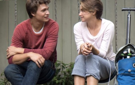 Ansel Elgort (left) and Shailene Woodley star as Gus and Hazel in