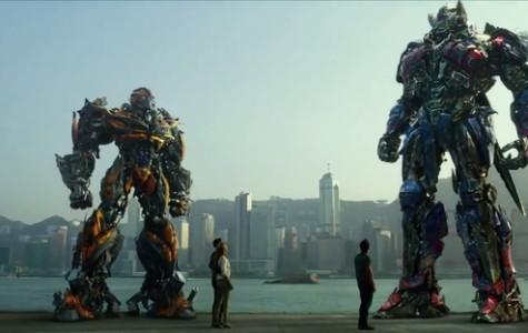 "Explosions, dinobots save fourth ""Transformers"" movie"