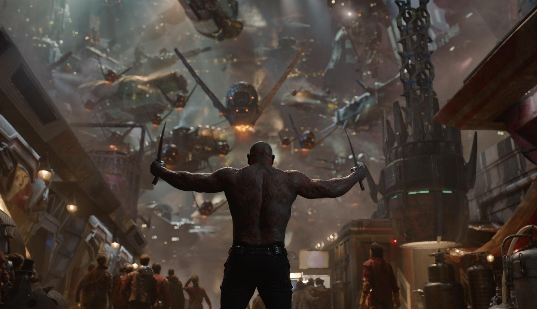 Drax (played by Dave Bautista) is one of the