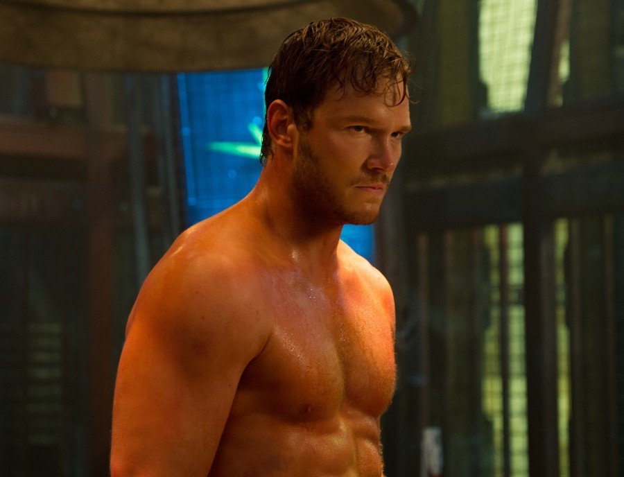 Chris+Pratt+plays+Peter+Quill%2C+the+leader+of+the+%22Guardians+of+the+Galaxy%22.