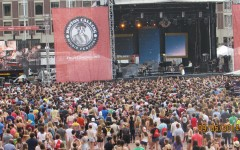 He does the calling for Boston Calling