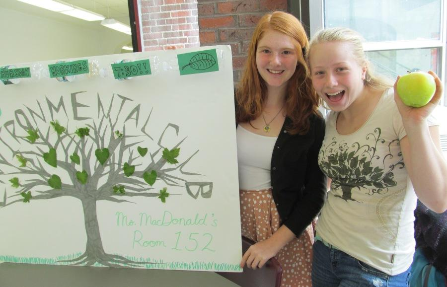 The Environmental Club is one of the more than two dozen groups, teams, and organizations available for students to join in and around Watertown High School.