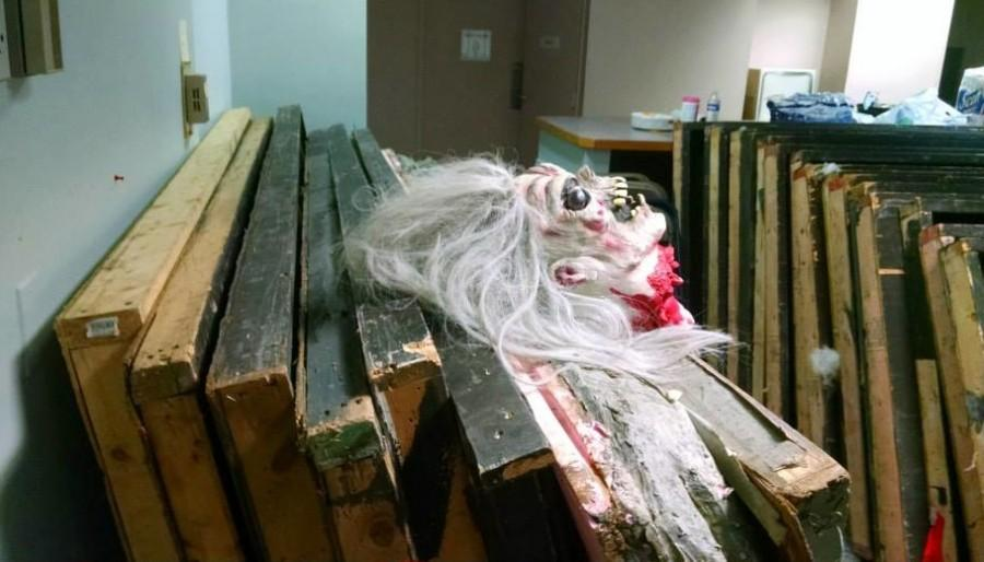 Months of work by a volunteer crew helped create Braintrees Haunted House -- an annual fund-raiser to help the elementary schools -- which is open in 2014 from Thursday, Oct. 23, through Saturday, Oct. 25, at 90 Pond St.