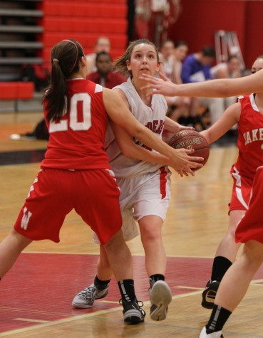 Wakefield couldn't stop the undefeated Raiders girls basketball team on Jan. 2, 2015, at Watertown High.