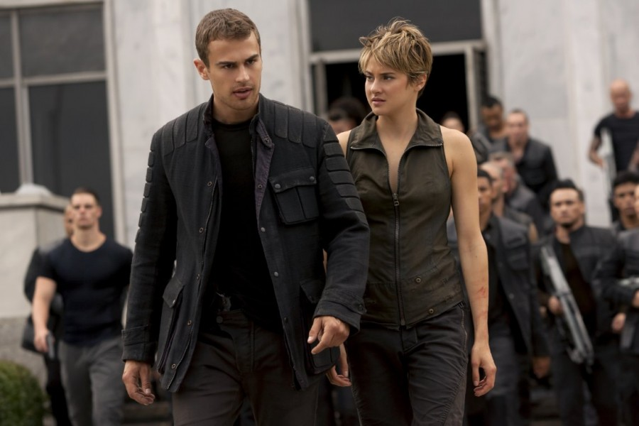 Shailene+Woodley+%28right%29+and+Theo+James+star+in+%22Insurgent%2C%22+the+sequel+to+2014%27s+%22Divergent.%22