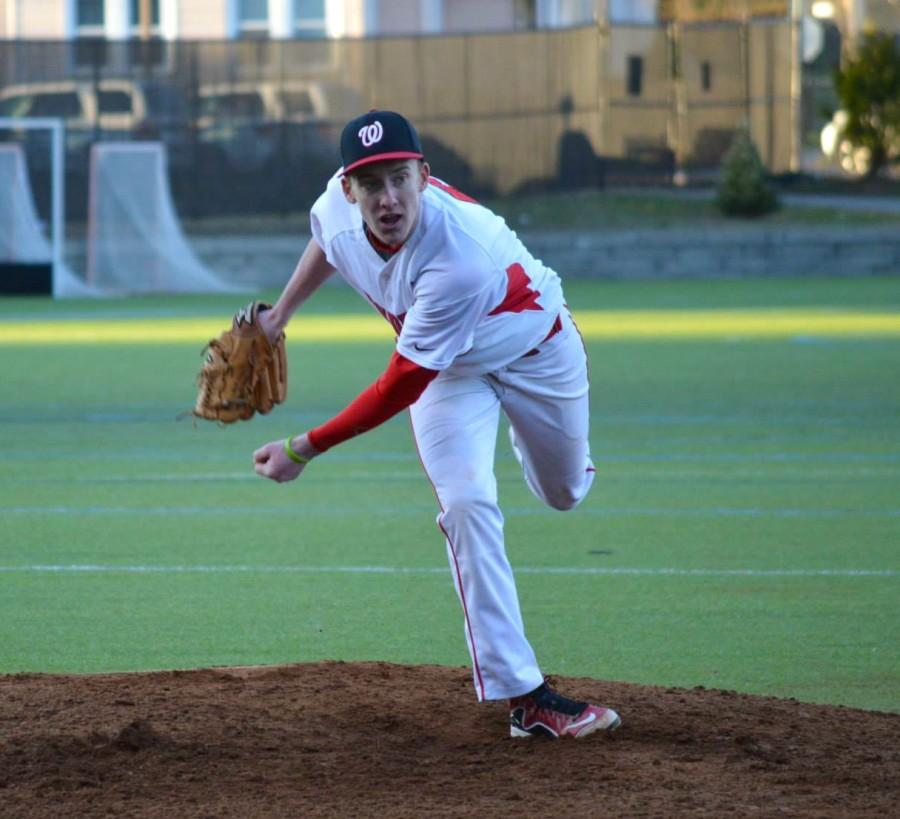 Junior Kyle Foley sparkled on Wednesday, April 15, at Victory Field, striking out seven in seven innings before getting a no-decision in Watertown High's 15-8 loss to Wakefield in nine innings.