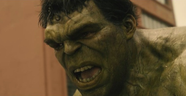 Hulk+%28Mark+Ruffalo%29+has+his+hands+full+in+%22Avengers%3A+Age+of+Ultron%22.