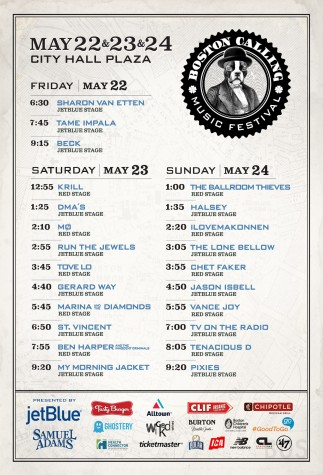 boston calling may lineup
