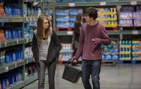 Cara Delevingne (left) and Nat Wolff star in the film adaptation of
