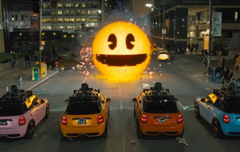 "Adam Sandler fans get their money's worth with ""Pixels"""