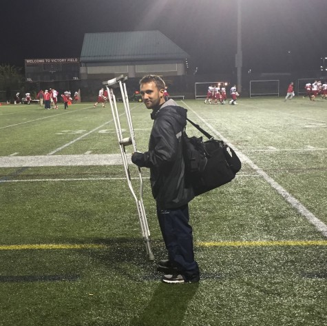 Eric Trant, athletic trainer for Watertown High School