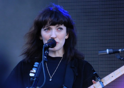 Elena Tonra of Daughter was among the performers at the 2015 Fall Boston Calling on City Hall Plaza.