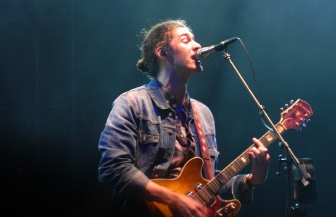 Hozier plays as part of the Boston Calling Fall 2015 concert Sept. 25-27 on City Hall Plaza.