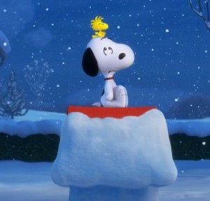 """Snoopy (and his little pal Woodstock) gets plenty of screen time in the new 3D animated """"The Peanuts Movie""""."""