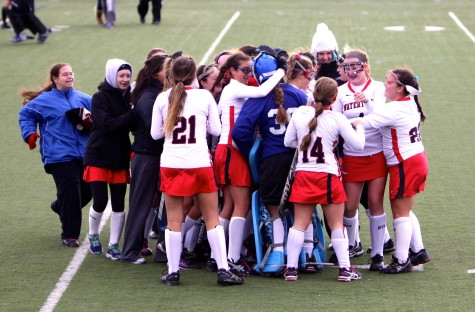 The Watertown High field hockey team beat Manchester-Essex, 4-0, on Saturday, Nov. 14, 2015, to win the Division 2 North sectional title and extend its unbeaten streak to 158 games.