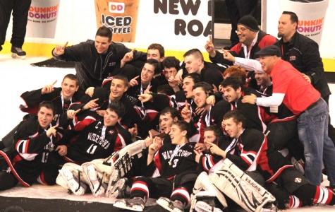 The last time the Watertown High hockey team played a game that counted was March 15, 2015, and the Raiders ended up on the TD Garden ice celebrating the Division 3 state championship.
