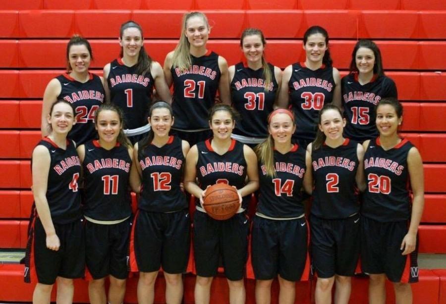 Members of the 2015-2016 Watertown High School girls' basketball team.