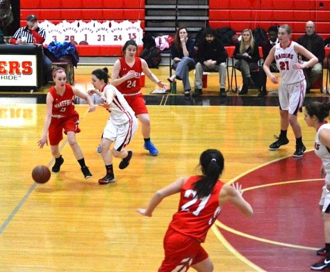 Defense has been a cornerstone for the top-seeded Watertown High girls' basketball team this year.