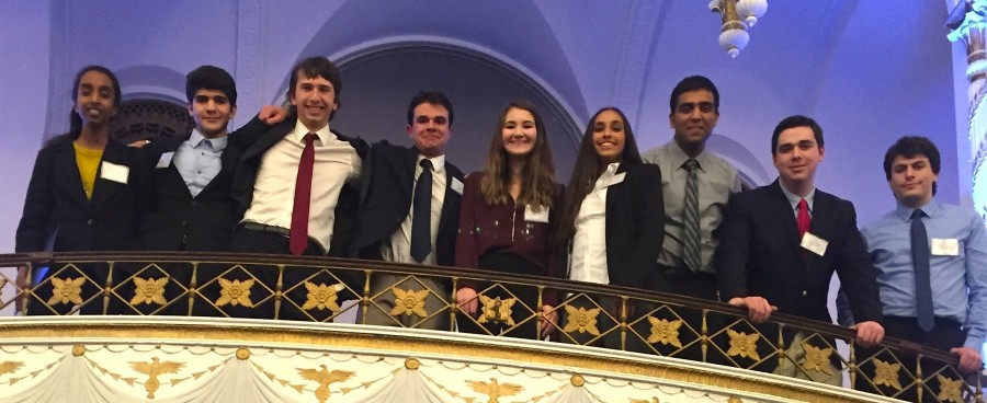 The+delegation+representing+Watertown+High+School+at+the+2016+Boston+Invitational+Model+United+Nations+Conference+featured+%28left+to+right%29+Meron+Hagos%2C+Cris+Patvakanian%2C+Jeremy+Holt%2C+Isaac+Gibbons%2C+Alexis+Caira%2C+Janaki+Thangaraj%2C+Arshdeep+Singh%2C+Eli+Cook%2C+and+Stefanos+Kiorpes.