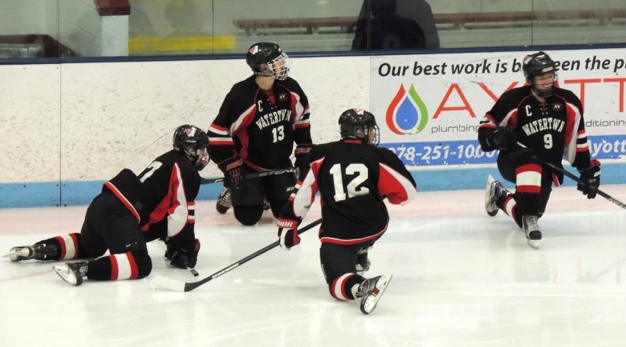 Watertown High Division 3 North hockey Shawsheen Sarah Lampasona