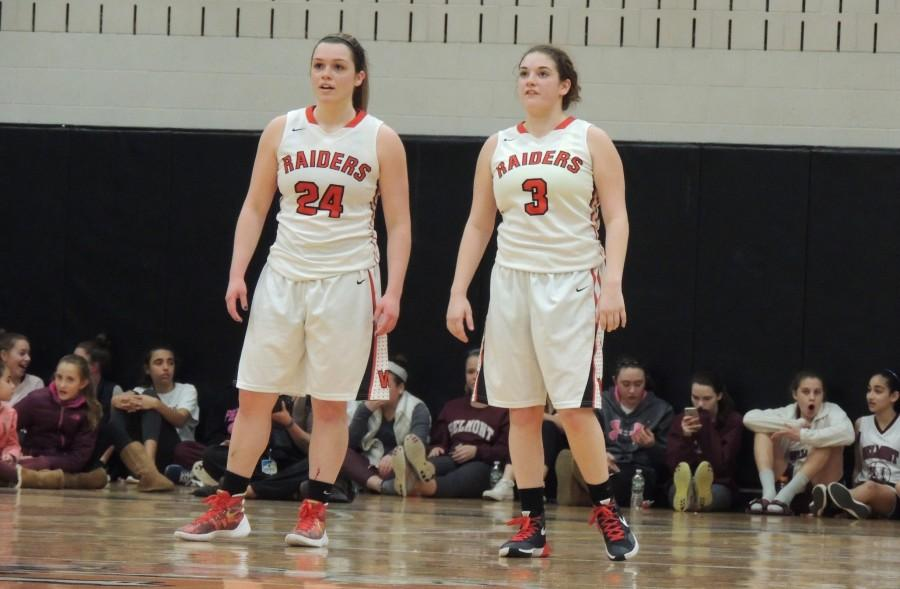 Watertown High Belmont Raiders Division 2 North title girls' basketball MIAA Melissa Rose