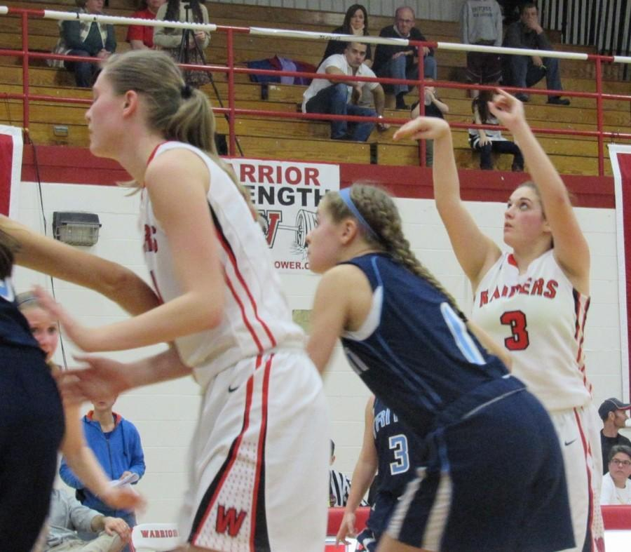 Watertown girls' basketball Triton Division 2 North 2016 MIAA Melissa Rose
