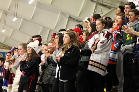 Raiders March 7, 2016 Watertown High MIAA hockey Weston Division 3 North Grace Duguay