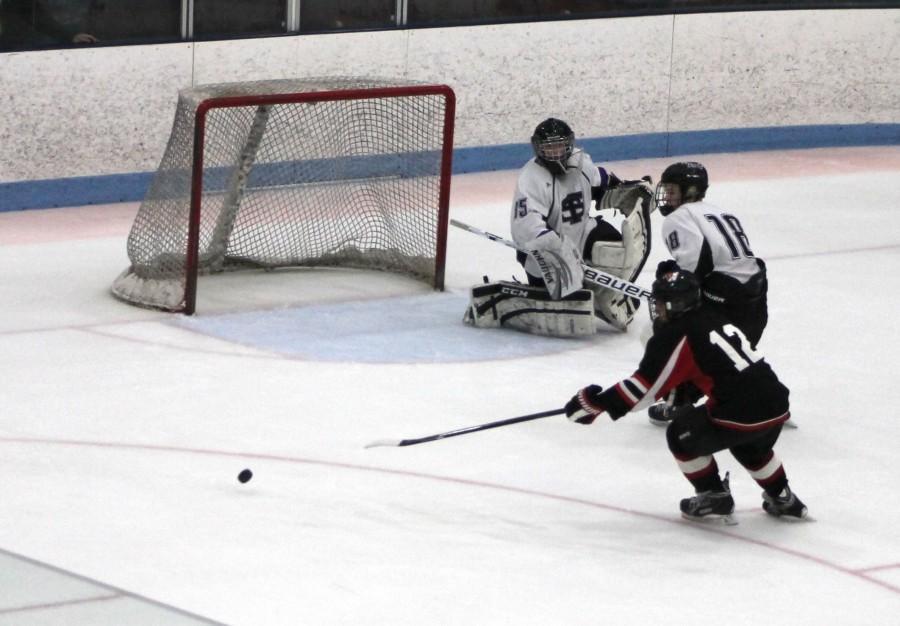Watertown Raiders MIAA hockey Shawsheen Division 3 North Grace Duguay