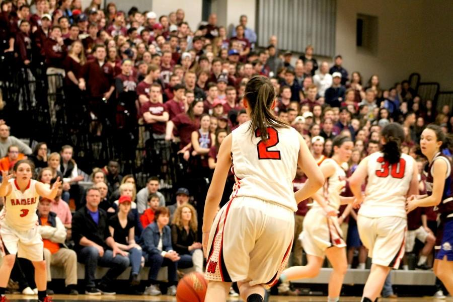 Watertown High Belmont Raiders Division 2 North championship Marauders girls' basketball MIAA Grace Duguay