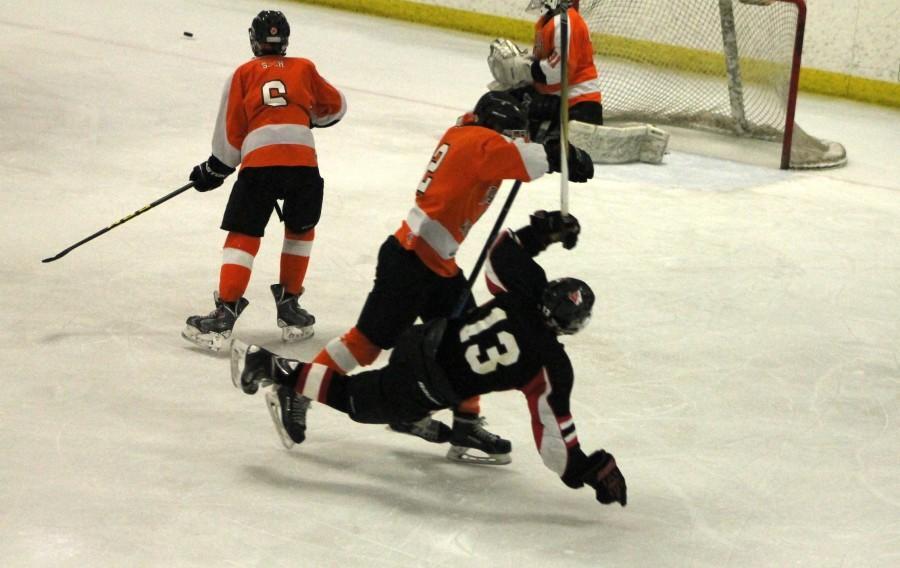 Wayland Watertown Division 3 North hockey Raiders MIAA Grace Duguay