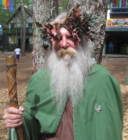 Wonderful characters like this inhabit King Richard's Faire, now running weekends through Oct. 23, 2016.