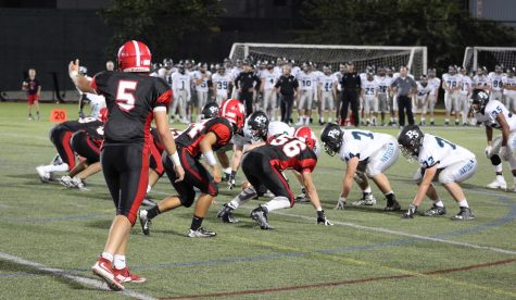 The Watertown High School football team improved to 2-0 by beating Plymouth South, 24-6, at Victory Field on Sept. 16, 2016.