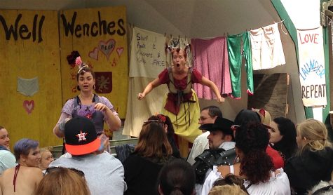 The Washing Well Wenches perform at King Richard's Faire in Carver, Mass. (Sept. 3, 2016)