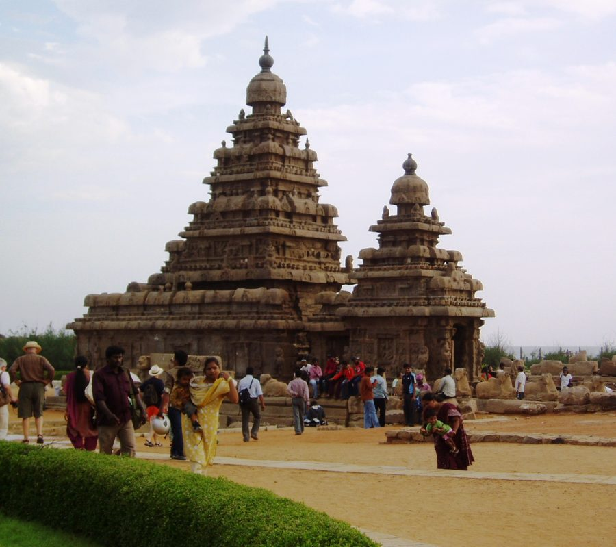 Shore Temple Mahabalipuram in India