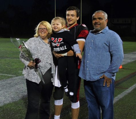 Watertown High celebrated Senior Night 2016 with a 14-12 victory over Melrose on Friday, Sept., 30, at Victory Field.