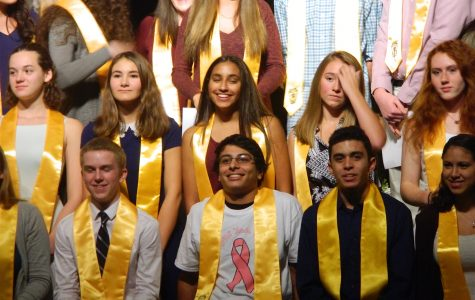 Watertown High inducts 65 students into National Honor Society